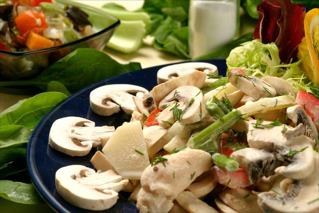 salada cogumelo Paris zona sul