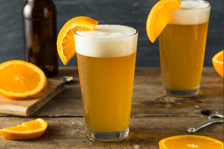 cervejas com frutas