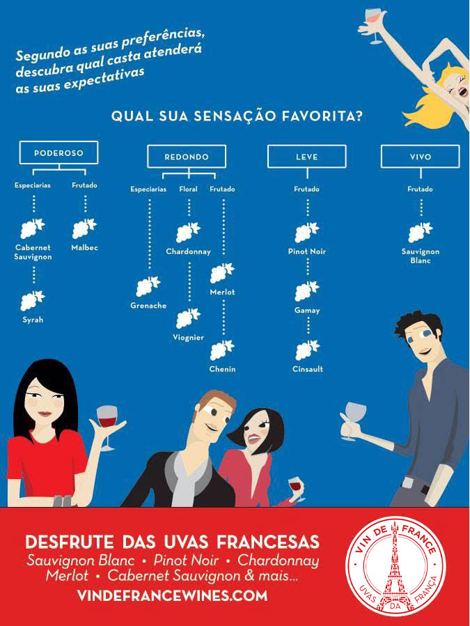 Vin De France infográfico