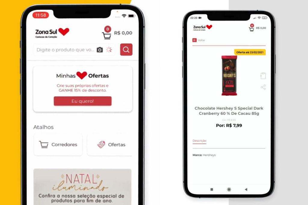 zona sul digital novo app