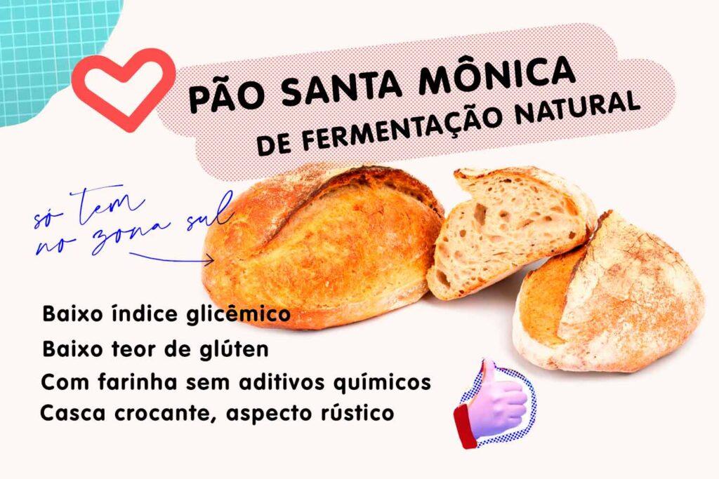 infográfico santa mônica pão
