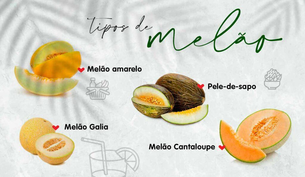 variedades do melão